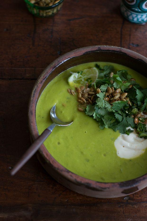 Sopa Verde de Elote