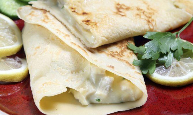 Receta de Recetas de crepes salados: Crepes Salado, Facile Recipes