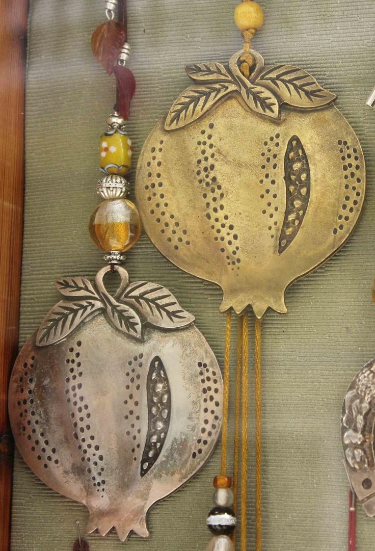Greek pomegranate good luck charms #HOFLuckyCharms