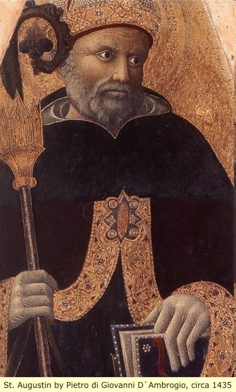 St. Augustine, one of the many Black/Moorish leaders of the Roman Catholic religion. And, in case one is not aware of the many others, please study. The documents are there, it's only that most folks choose to read ready-made versions of history.