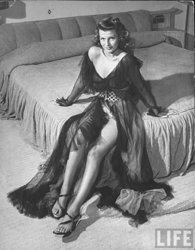 Photo of Rita Hayworth for fans of Rita Hayworth. Rita Hayworth Life Magazine archive photos