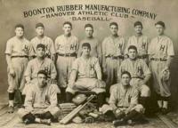 Boonton Rubber Manufacturing Company Hanover Athletic Club Baseball Team
