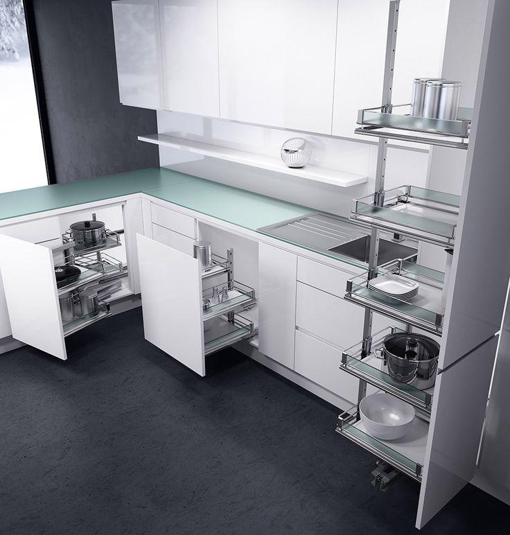 Contemporary Kitchen Storage Systems: 41 Best Kitchen Storage Ideas Images On Pinterest