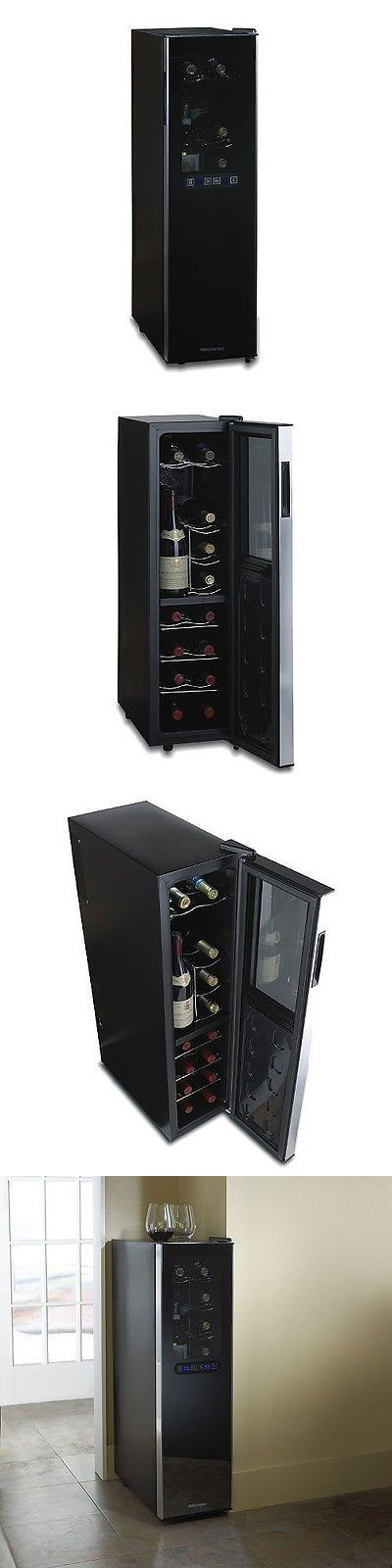 Other Food and Beverages 79631: Wine Enthusiast Silent 18-Bottle Dual-Zone Slimline Wine Refrigerator -> BUY IT NOW ONLY: $229.78 on eBay!