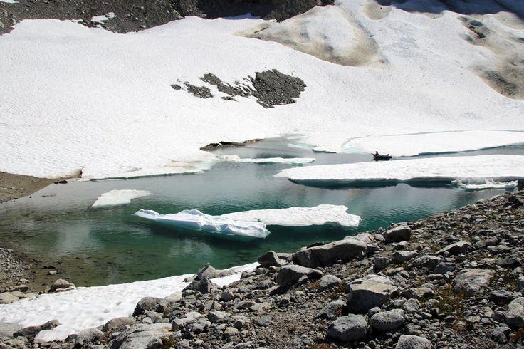 Iceberg Lake: Whistler- Intermediate, 7hrs, 15km, 900m elv. gain.