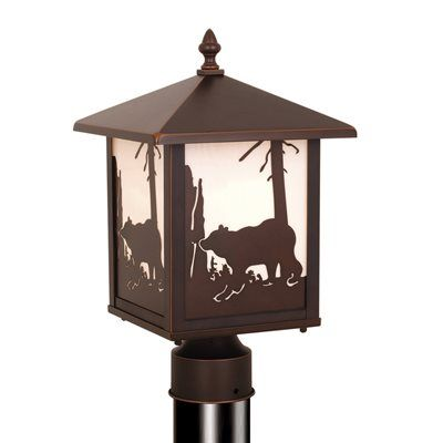 Cascadia Lighting Bozeman Post Mount Light