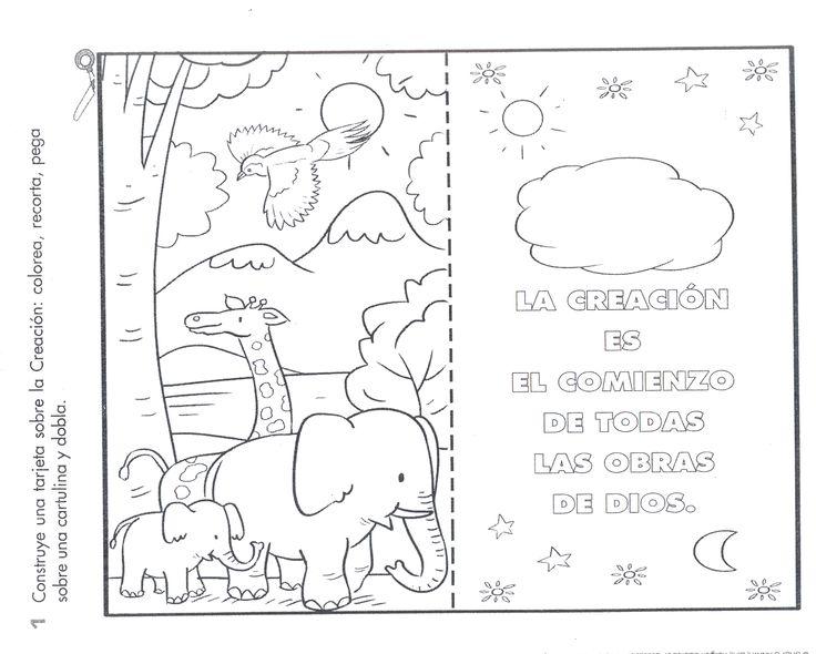19 best La creación images on Pinterest | Escuela dominical ...
