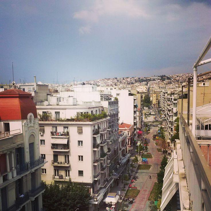 Thessaloniki, Agias Sofias street