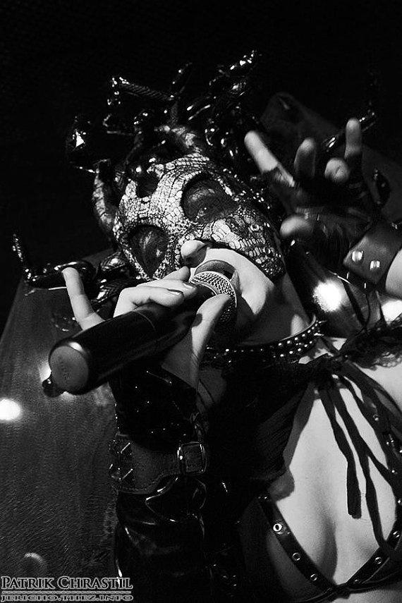 Theatres des Vampires Mask Moonlight Waltz by DiktatorFashionLab, €195.00