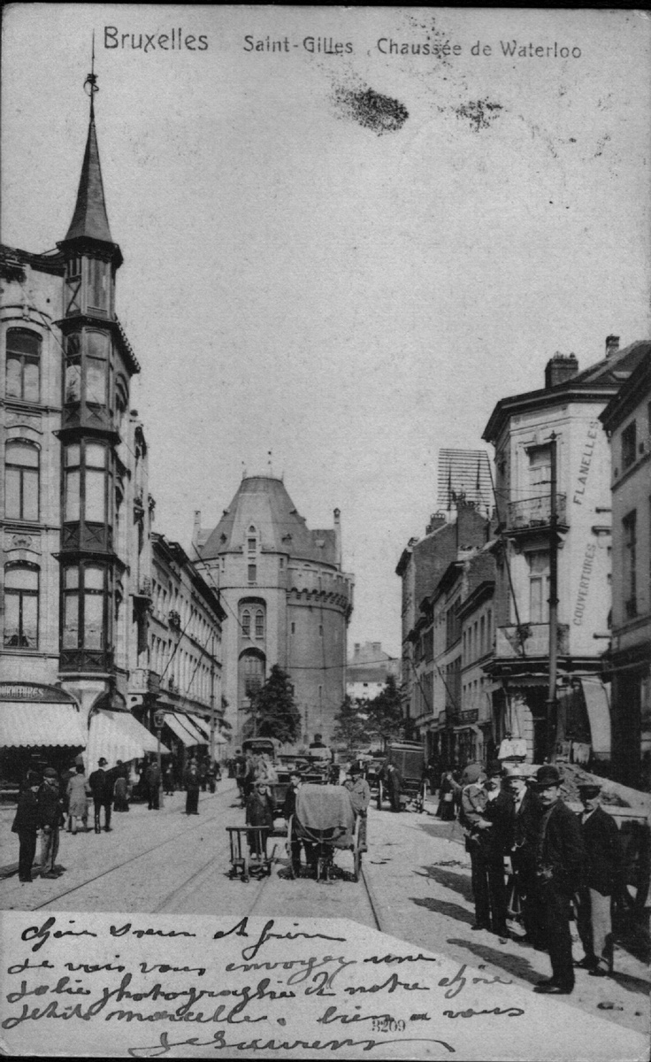 Bruxelles saint gilles chauss e de waterloo saint gilles - Garage chaussee de bruxelles dampremy ...