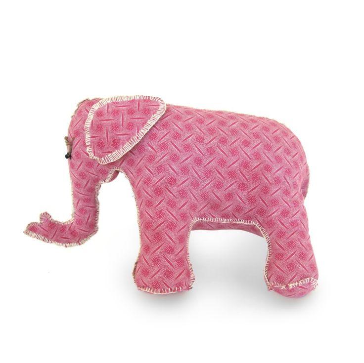 Elephant Friend – Pink Stripes   Project Elephant