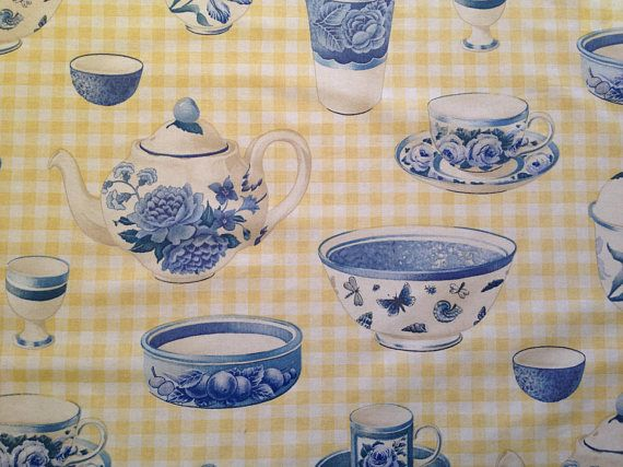 Countryi Kitchen Tablecloth Farmhouse Chic Retro Tablecloth