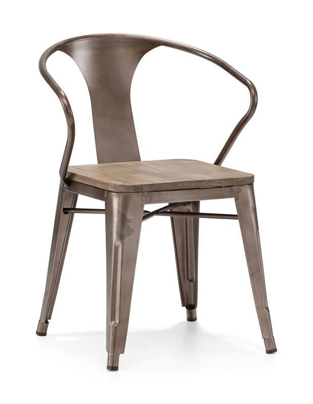 HELIX DINING CHAIR RUSTY+ELM WOOD TOP  #chair #wood #seat #decoration #furniture