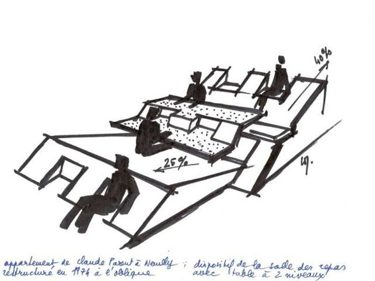 The Oblique Function by Claude Parent and Paul Virilio
