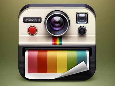 : Mobile App, Appicons, Instagenius App, Ios App, App Icons, Camera, Icon Designs, App Design, Ios Icons