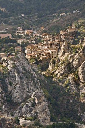 Castelmezzano, province of  Potenza, Italy