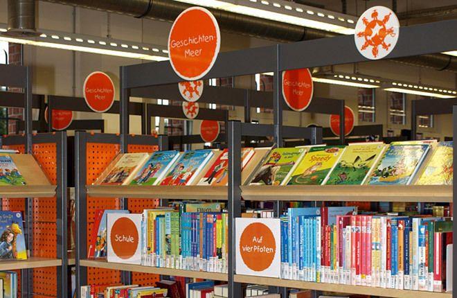 Die Kinderbibliothek Hamburg (Kibi) ist Hamburgs größtes Schaufenster für Kindermedien. Auf insgesamt 700 qm finden sich 60.000 ausleihbare Medien (Bücher, Zeitschriften, Filme, CDs, CD-ROMs, Konsolen- und Computerspiele) für eine Menge Lese-, Hör-, Seh- und Spielspaß.  Die Veranstaltungsräume laden ein, das beliebte, vielseitige Kinderprogramm mit allen Sinnen zu erleben – sei es im 'Goldfischbecken', dem 'Traumhaus', dem 'Marktplatz' oder der 'Lernwerkstatt'....