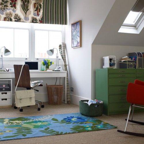 Υπνοδωμάτιο, γραφείο σε σοφίτα. Πως να μετατρέψετε τη σοφία σε ένα όμορφο και χρηστικό γραφείο ή ένα ήρεμο και ήσυχο υπνοδωμάτιο   Small Things