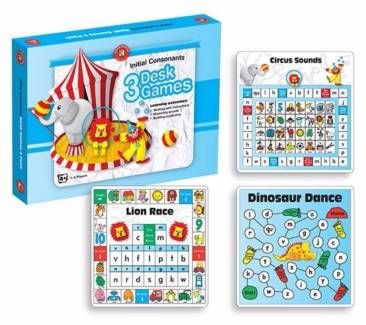 Educational Toys Games Reading Games Initial Consonants Desk Game  From Green Ant Toys Online Toy Shop www.greenanttoys.com.au #reading #games http://www.greenanttoys.com.au/shop-online/educational-toys/fun-learning/initial-consonants-desk-games/