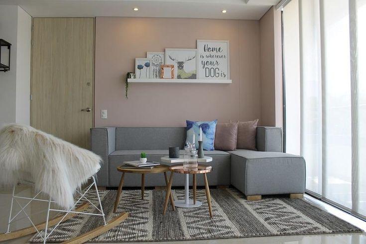 El diseño de un apartamento con estilo Boho-Chic. Decohunter. Los tonos, materiales y texturas del diseño de este apartamento son el reflejo de un ambiente boho-chic y descomplicado. Lee más aquí