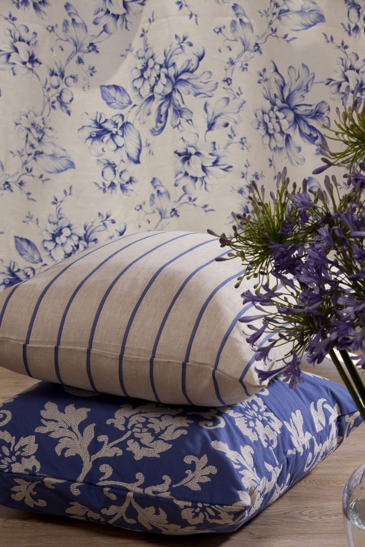 Blue Horizon, Collection of Furnishing Fabrics from Svenmill Ltd