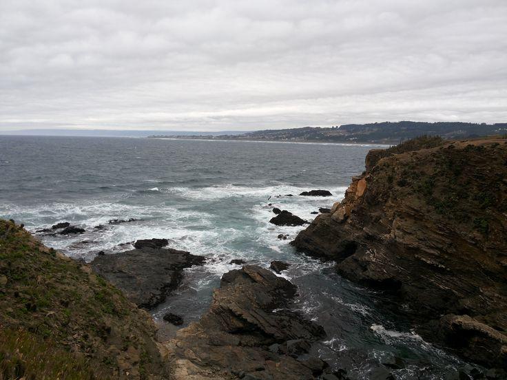 Punta de Lobos #pichilemu capital mundial del surf, #Chile