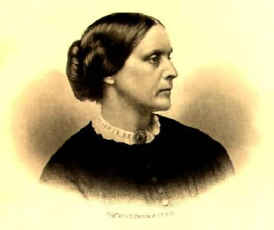 """Susan B. Anthony first visited KC in 1870 and struck up a friendship with civic leader - Sarah Coates - """"the one woman Anthony wrote:  """"upon whom rested the claim of leadership of our suffrage work in that city.""""  Anthony's work in Kansas led to the state granting votes to women."""