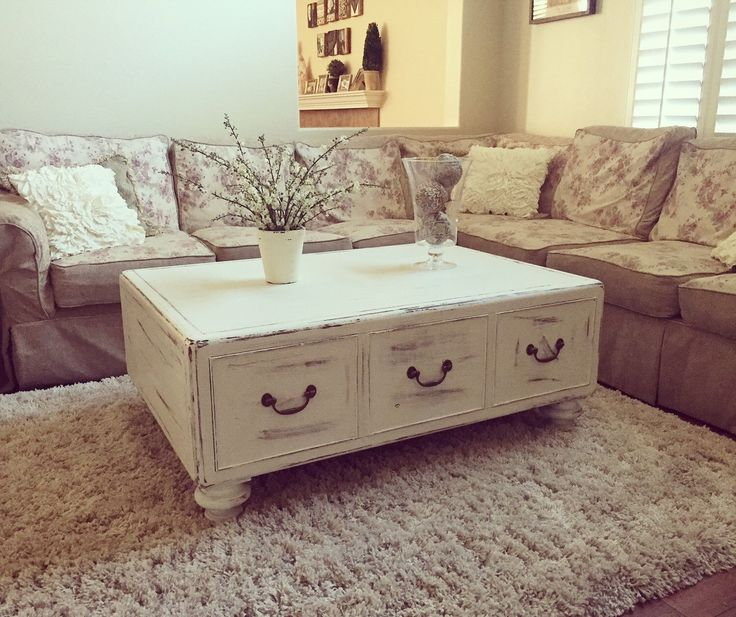 Distressed White Coffee Table With Storage: 1000+ Ideas About Solid Wood Coffee Table On Pinterest