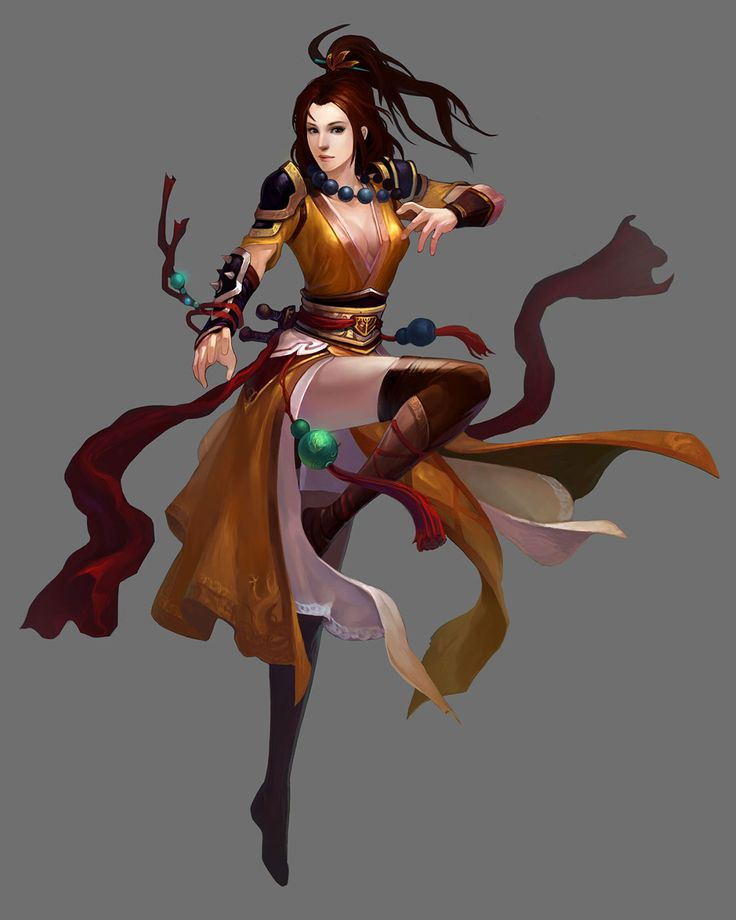 Female Monk from Conquer Online