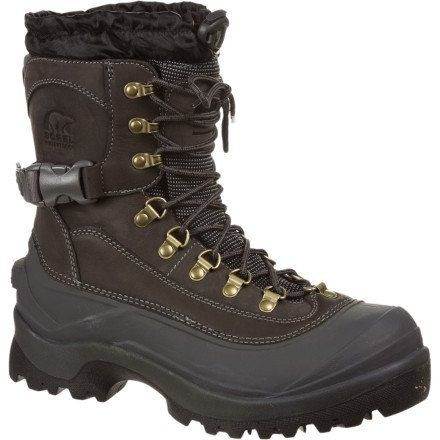 Sorel Men's Conquest Snow Boot,Boulder,10 M US - http://authenticboots.com/sorel-mens-conquest-snow-bootboulder10-m-us/