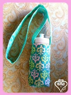 Water Bottle holder tutorial. Making these for the boys for summer.
