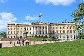 Oslo, Noruega, Casa Del Rey