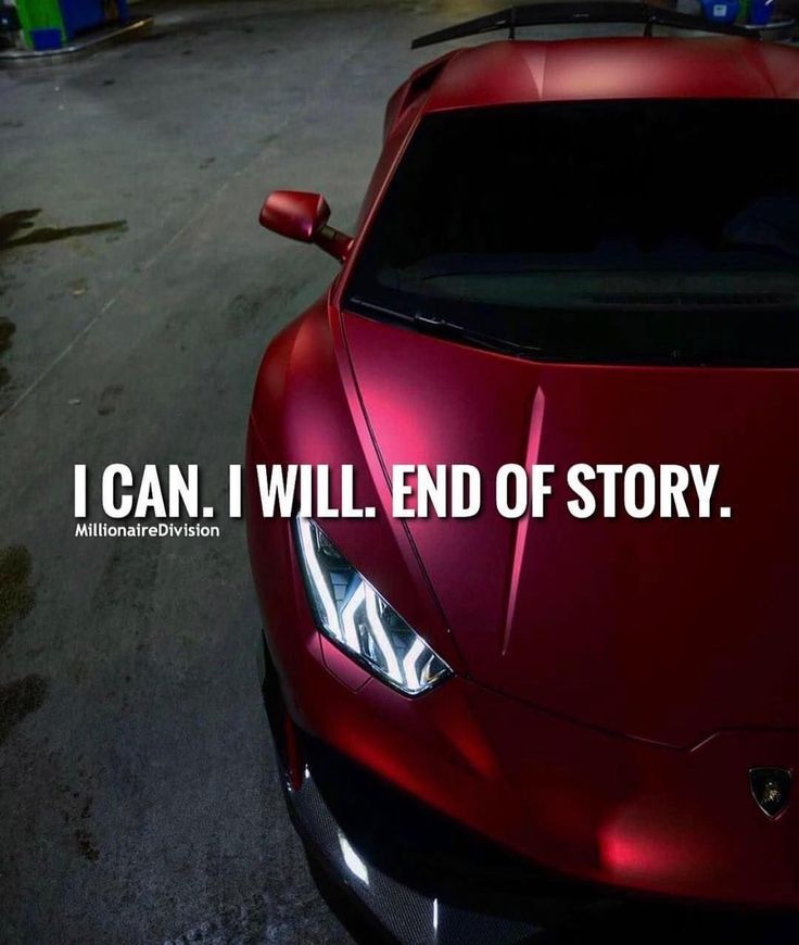 I can and I will. End of story. - tag a friend below  -  Belongs to respective owner - - - - - #success #entrepreneur #inspiration #motivation #business #boss #luxury #wisdom #entrepreneurship #billionaire #millionaire #hustler #quotes #quote #money #ambi