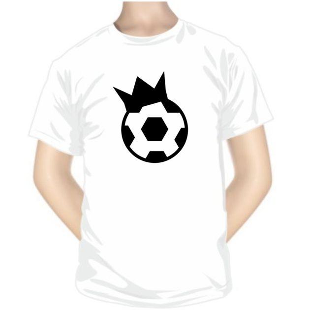 Tee shirt de sport: ballon avec COURONNE - Les sportifs - SiMedio