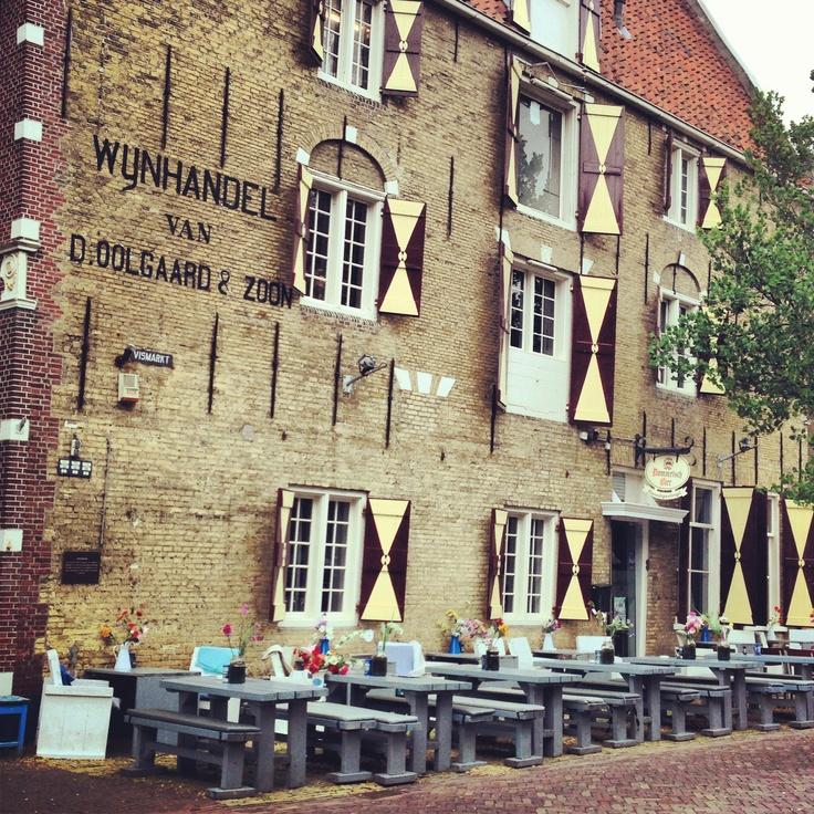eetcafe Nooitgedagt in Harlingen