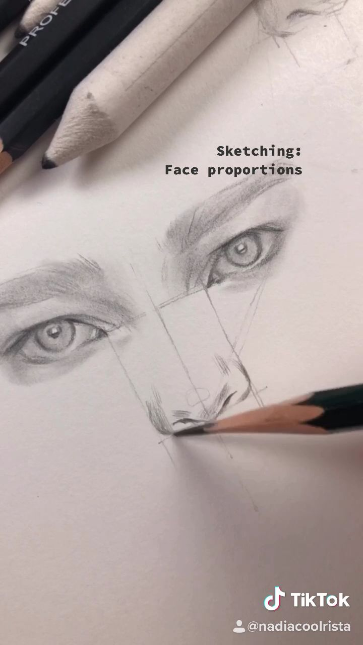 How to draw a nose. Drawing tips from Nadia Coolrista