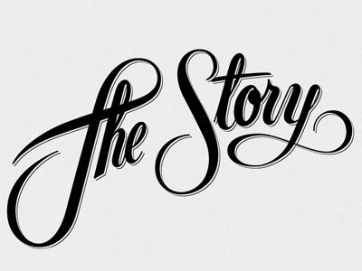 The Story   Designer: Drew Melton - http://dribbble.com/justluckyClassic Movie, Nice Letters, Inspiration Gallery, Inspiration Artists, Drew Melton, Design Typography, Artists Inspiration