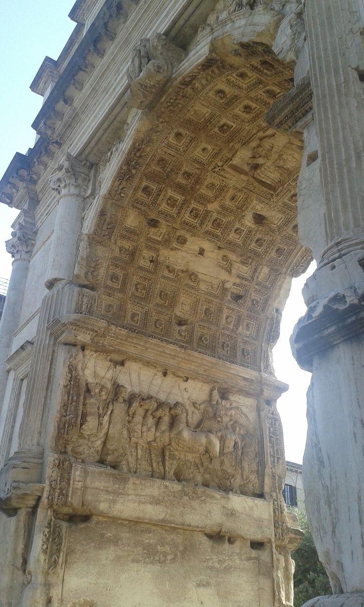 Arco di Tito, Roma  (Maggio 2016)