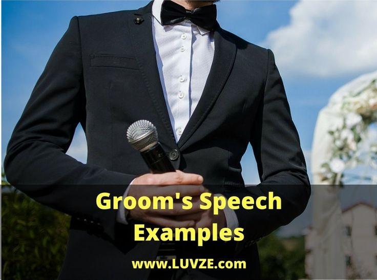 25+ Best Ideas About Wedding Speech Examples On Pinterest