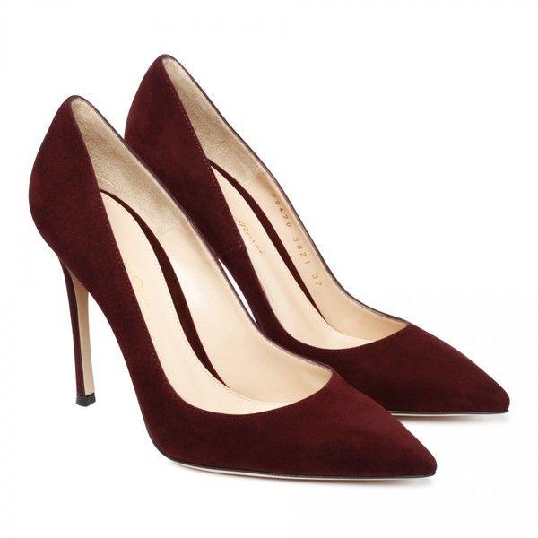 Bordeaux suede pumps ($450) ❤ liked on Polyvore featuring shoes, pumps, heels, sapatos, обувь, suede pumps, heel pump, suede shoes, suede leather shoes and bordeaux shoes
