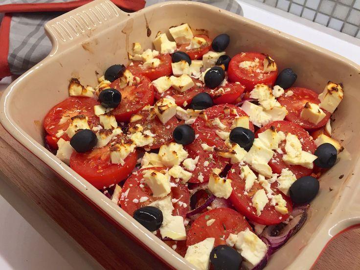 Nieuw recept: Griekse ovenschotel met linzen - http://wessalicious.com/griekse-ovenschotel-met-linzen/