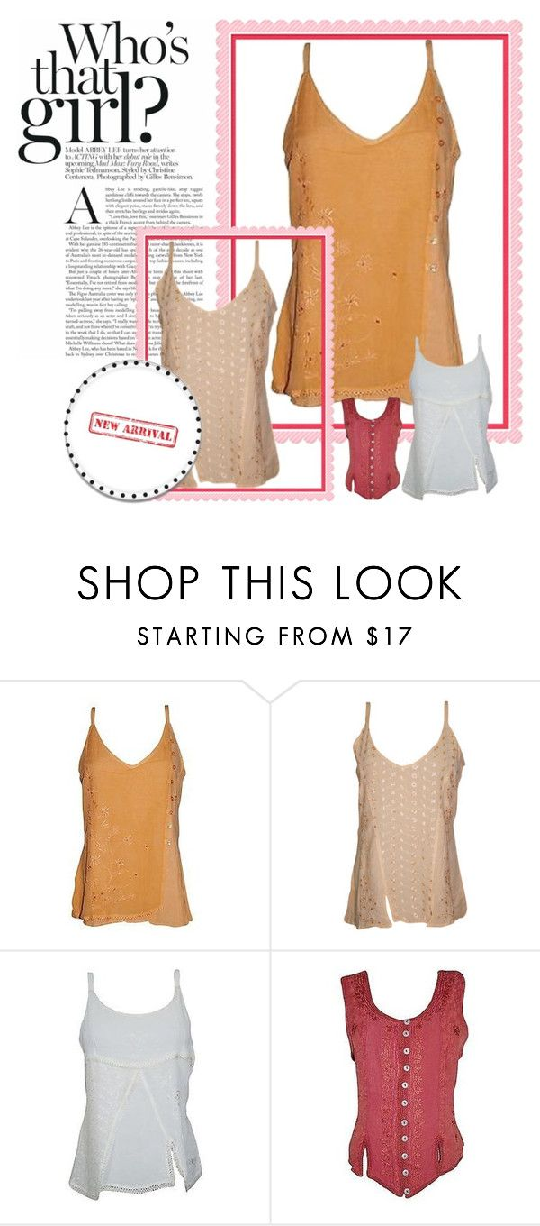 Bohemian Strappy Tank Top by baydeals on Polyvore  http://stores.ebay.com/mogulgallery/TOPS-BLOUSES-/_i.html?_fsub=901626119&_sid=3781319&_trksid=p4634.c0.m322