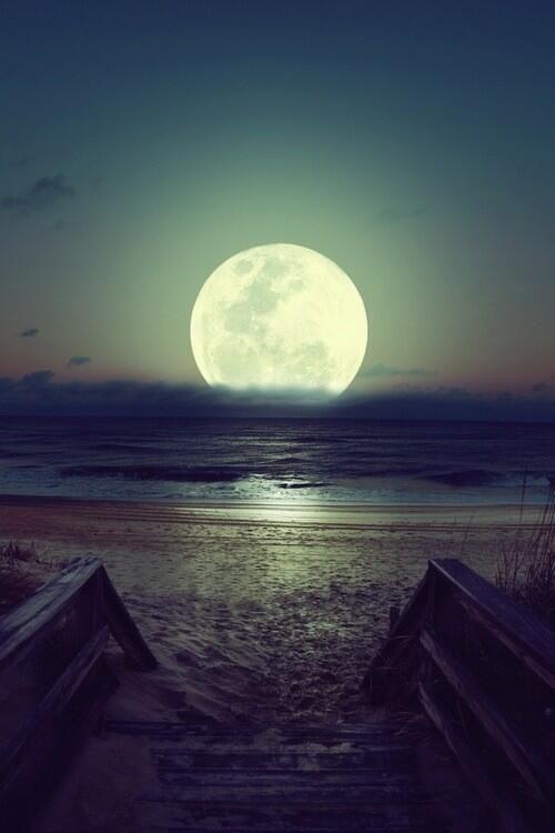 Full moon, Brazil: