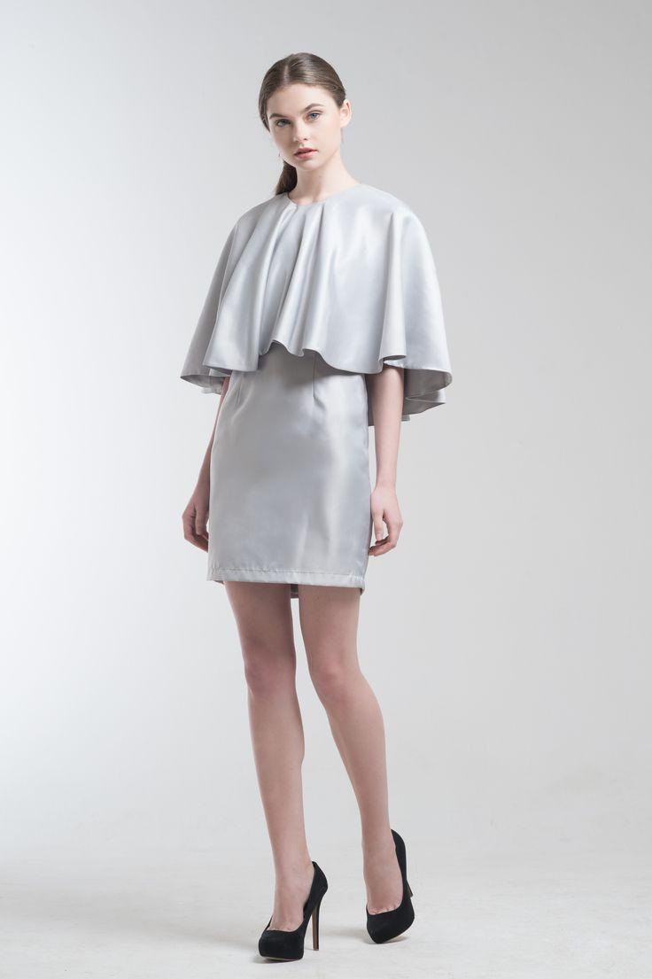 Cryst Cape Dress from Jolie Clothing  #JolieClothing www.jolie-clothing.com  #Fashion #designer #jolie #Charity #foundation #World #vision #indonesia  #online #shop #stefanitan #fannytjandra #blogger