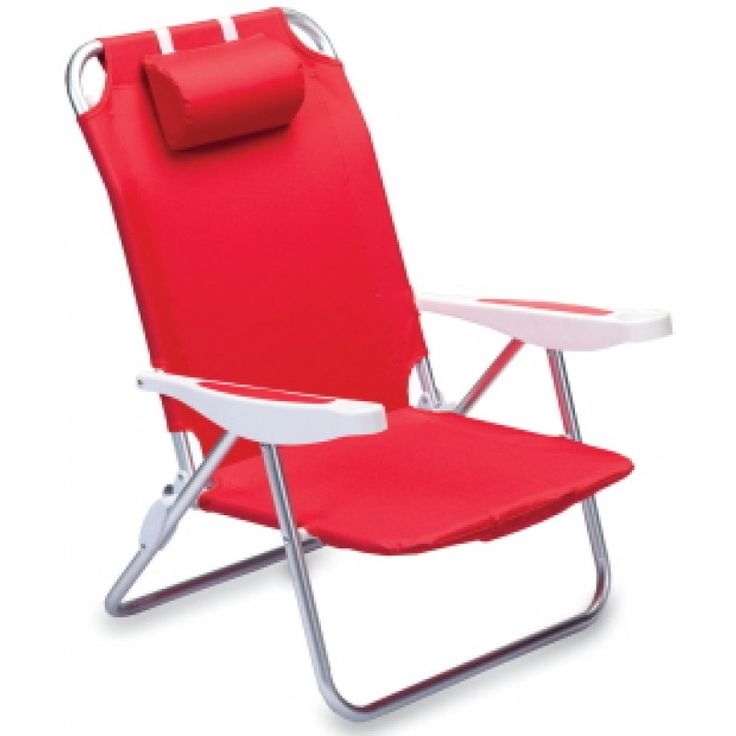 Red Beach Chair For Outside In Uk