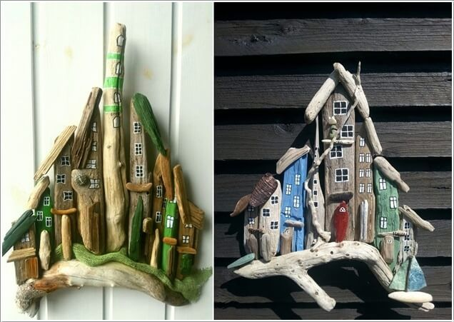 Decorate Your Home with Driftwood Projects