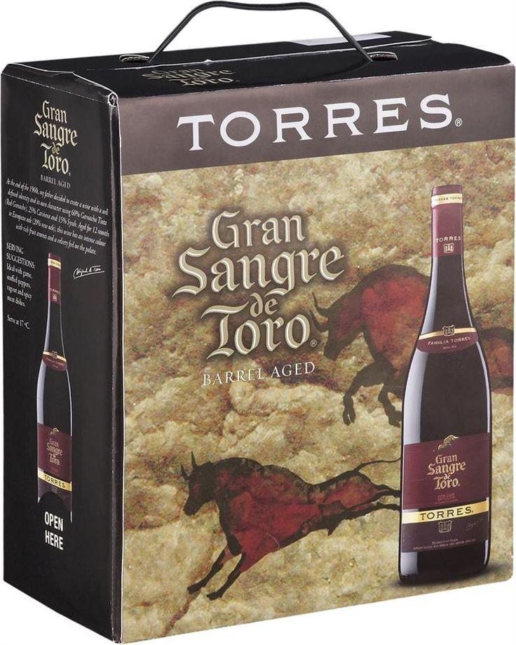 Torres Gran Sangre de Toro Barrel Aged 2012 hanapakkaus
