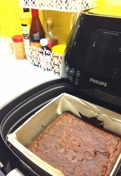 Brownies in de airfryer