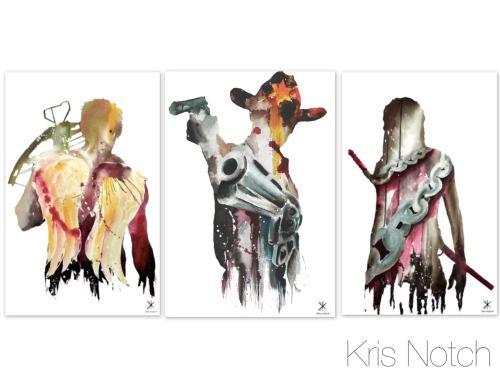 Cool Walking Dead fan art!