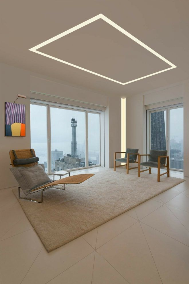 Mansion Fancy Living Room Led Lights Opnodes Ceiling Design